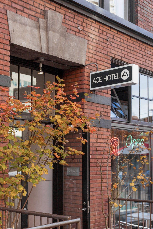 Hotels In Seattle >> Ace Hotel Seattle Pacific Northwest Loft Hotel